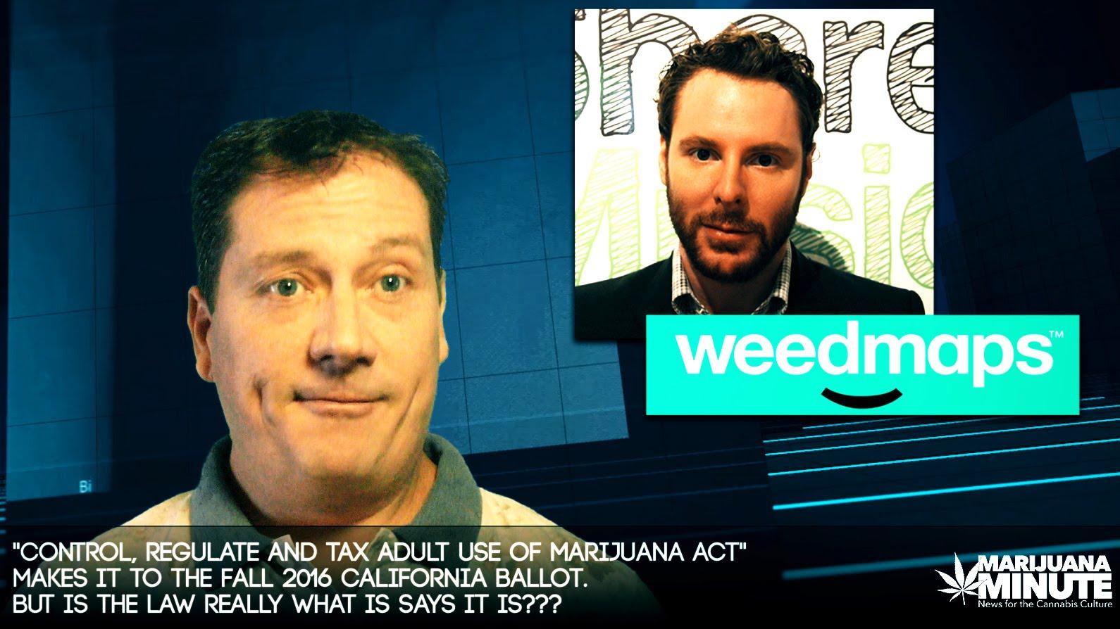 California's Marijuana Referendum… Good or Bad? –  Marijuana Minute 07-02-16