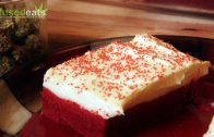 Cannabis Valentine's Red Velvet Cookie Bars with Marijuana Cream Cheese Icing: Infused Eats #2
