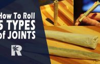 How To Roll 5 Types of Joints (Basic, Tipped, Cone, Backrolled & Oversized): Cannabasics #49