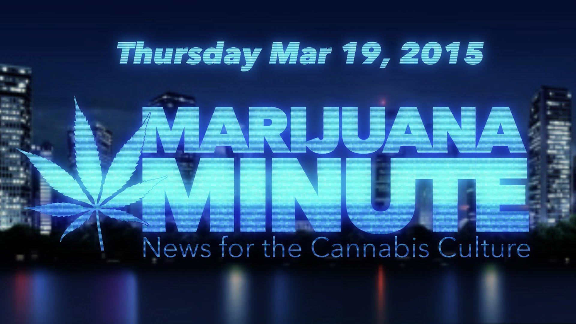 Marijuana Minute March 19, 2015: Obama Weighs in on Weed, NFL Gives THC Test Tip Off