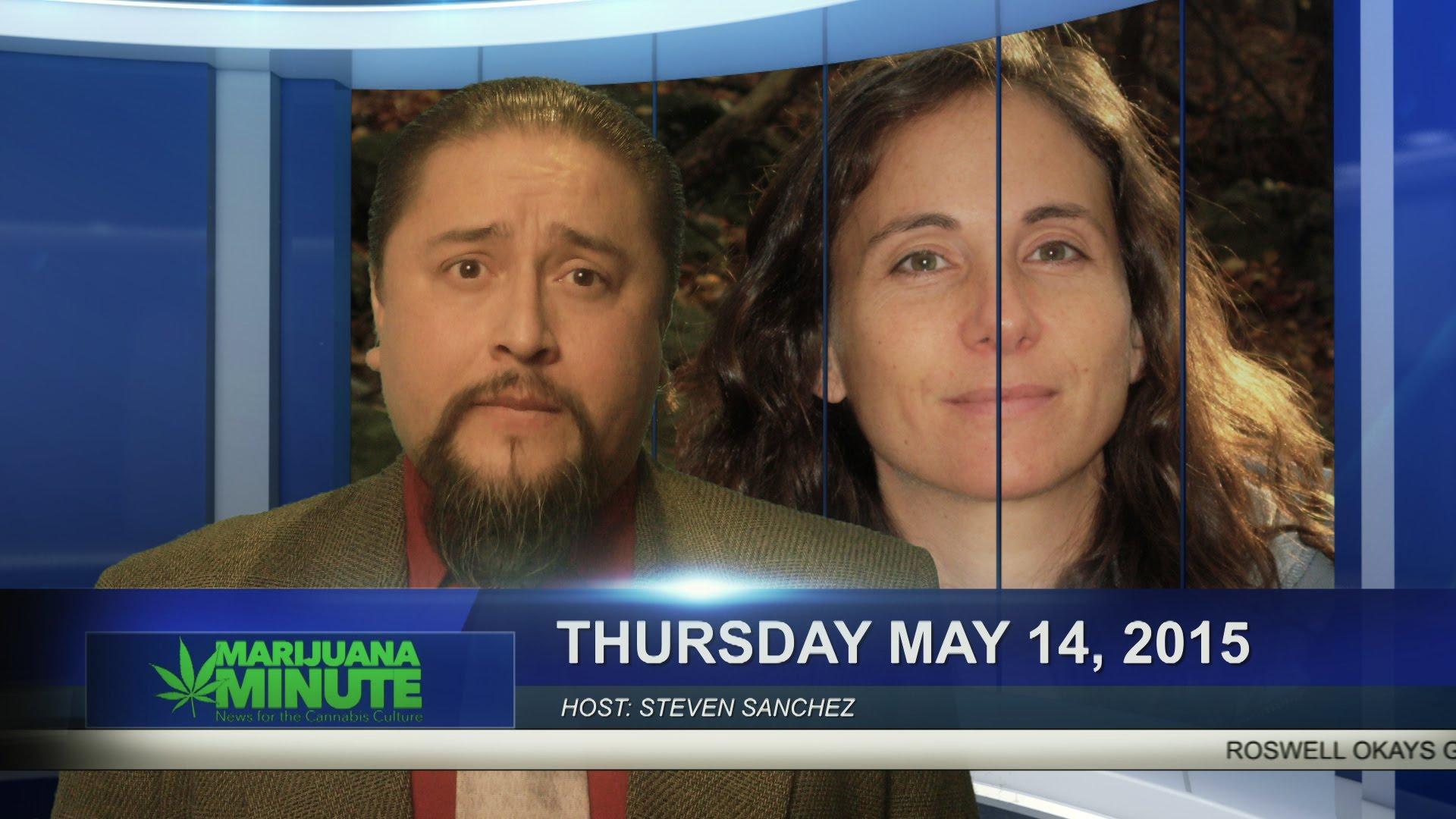 Marijuana Minute May 14, 2015: Roswell Okays Grow Facility, Weed for CO Paroles & Cotton Vagina