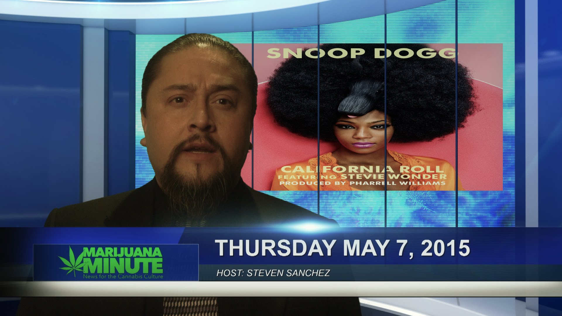 Marijuana Minute May 7 2015: Texas Christian Marijuana Movement Snoop and Stevie Wonder?