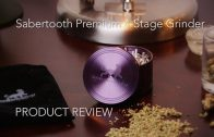 Marijuana Product Review: Sabertooth 4-Stage Premium Aluminum Grinder