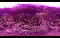 VR 360° Cannabis Grow Room Tour (Flowering Week 6) Gorilla Grow Tent/KIND Led Light