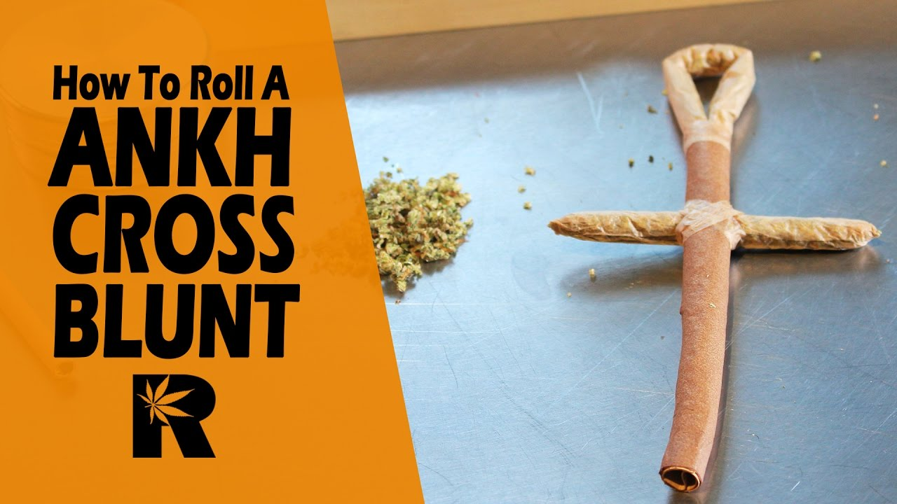 How To Roll An Ankh Joint (Egyptian Cross Blunt): Cannabasics #56