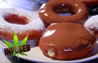 Marijuana Doughnuts with Cannabis Custard Filling & Weed Chocolate Icing: Infused Eats #39