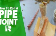How To Roll A Pipe Joint (With Wax): Cannabasics #61