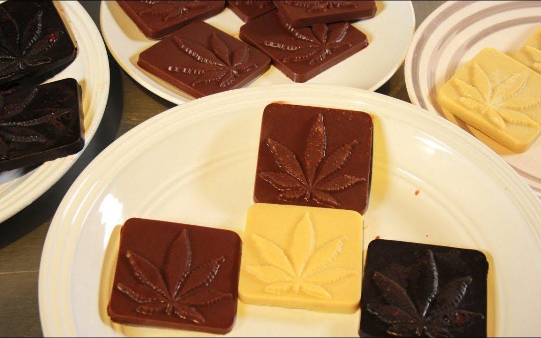 How To Make Cannabis Chocolate (Infused Vegan Dark, White & Milk Chocolates): Infused Eats #42