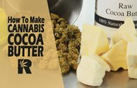 How To Make Chocolate Crisp Bar Cannabis Edibles with Rosin Wax: Cannabasics #104