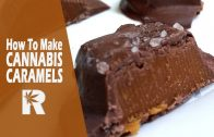 Cannabis Infused Sea Salt Chocolate Caramels