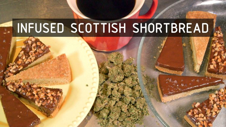 Cannabis Infused Scottish Shortbread Cookies Recipe