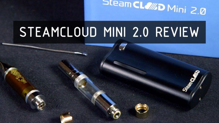 SteamCloud Mini 2.0 Oil and Wax Vape Review