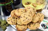 Cannabis Infused Vegan Chocolate Chip Cookies