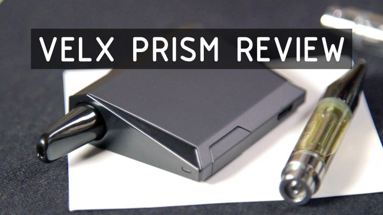 VELX PRISM Cartridge Vaporizer Review