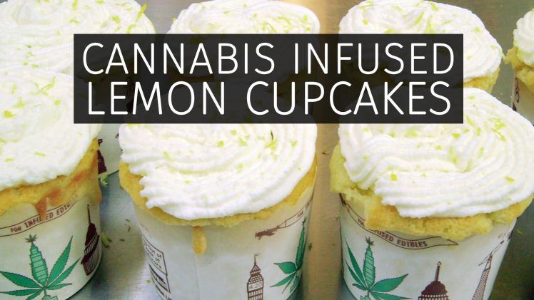 Cannabis Infused Lemon Cupcakes Recipe: Infused Eats #64