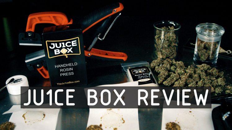 Ju1ce Box Portable Rosin Press Review